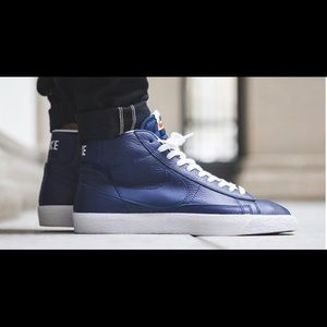 New Men's Nike Blazer Mid PRM Premium Sneakers